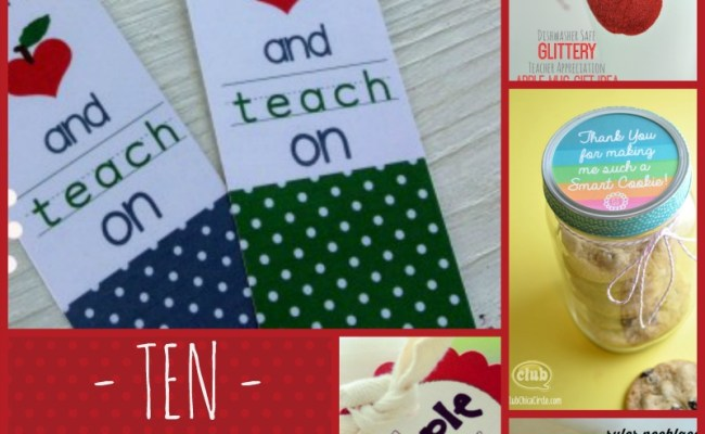 Diy Gift Ideas For Teachers Cheap Is The New Classy