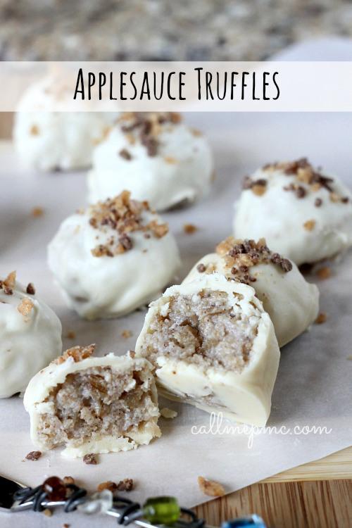 applesauce truffles apple recipes 10 more tasty using apples