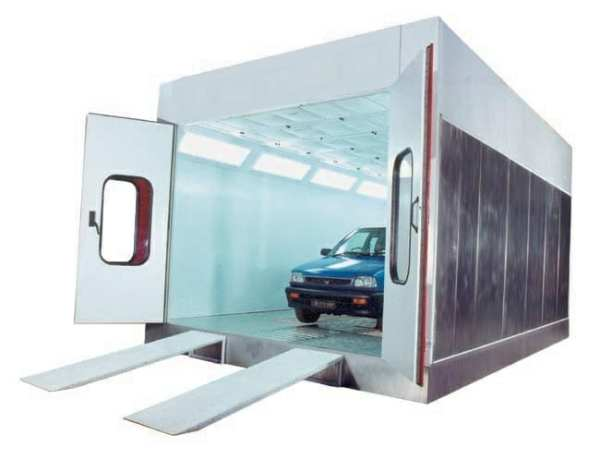 Affordable Spray Paint Booth