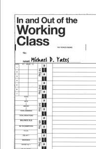 In and Out of the Working Class