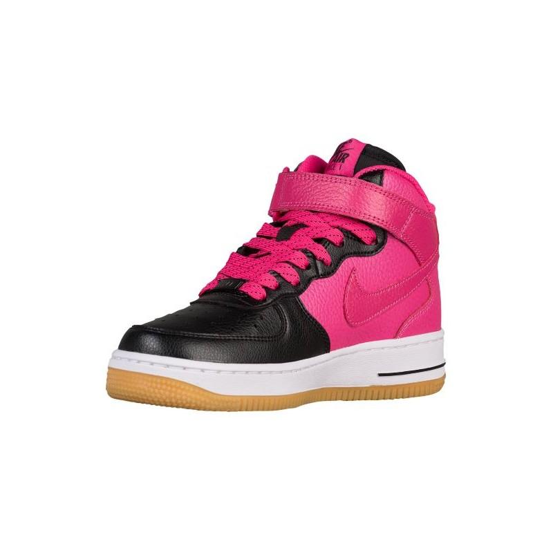 Nike Air Force 1 Pink and White Playboy Print Custom