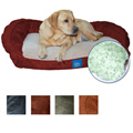 Serta Memory Foam Lounge Bolster Pet Bed (Choice of Colors) for $53 + Shipping