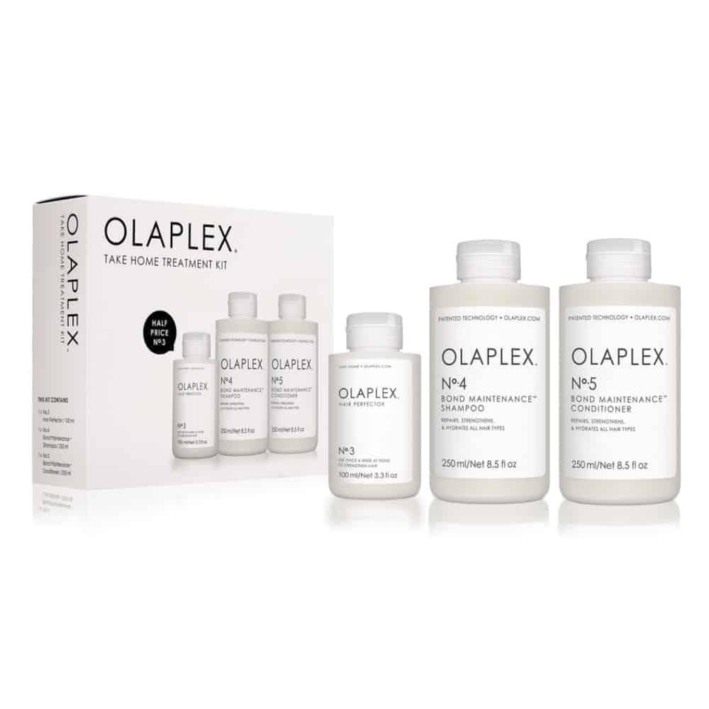 OLAPLEX Take Home Treatment Trio Kit