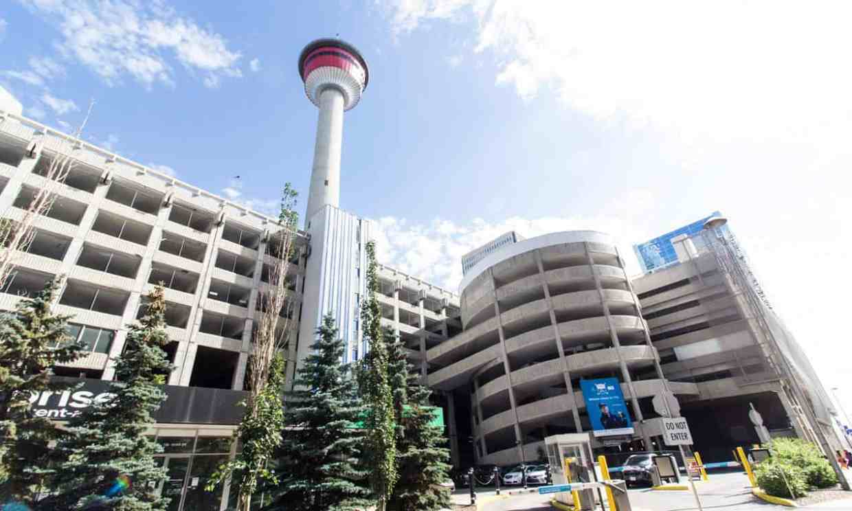 Image result for Calgary Tower in Calgary