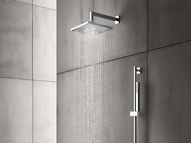 shower faucets with rain showers and bars
