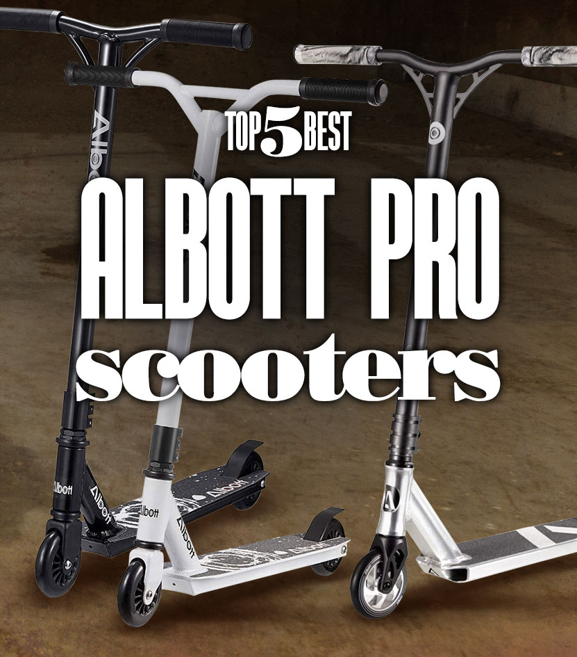 Complete Trick Scooters Beginner Freestyle 8 Albott Pro Scooters Stunt Scooter