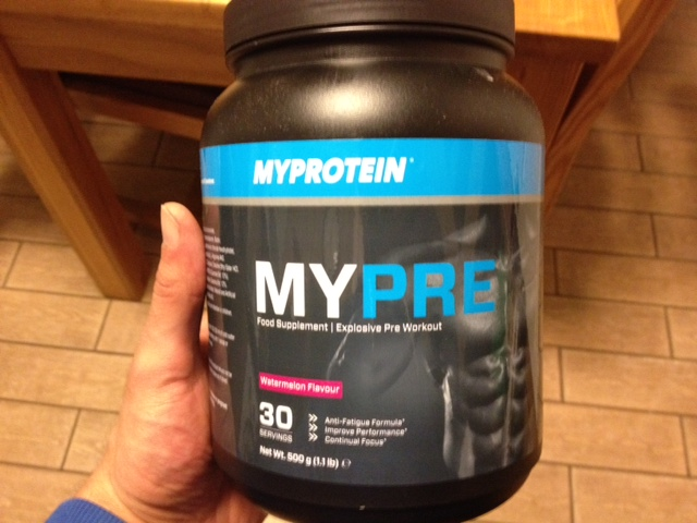 MYPRE REVIEW - The MyProtein Pre Workout Supplement