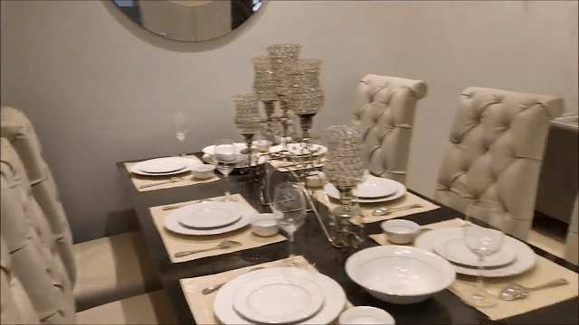 Modern Dining Table Setting Decoration Ideas (2)