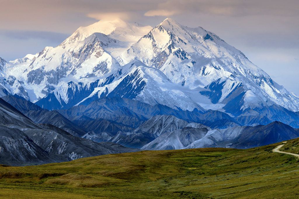 The hulking Denali is one of the most beautiful mountains in the world