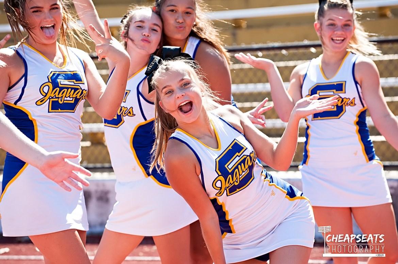 Seckman HS Cheerleaders