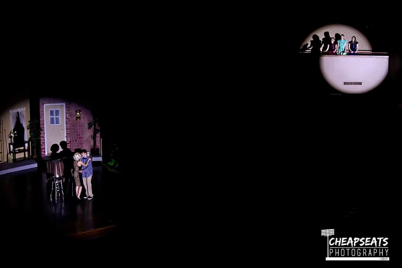scene from Little Shop of Horrors