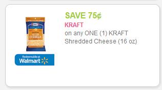 Kraft Shredded Cheese 75