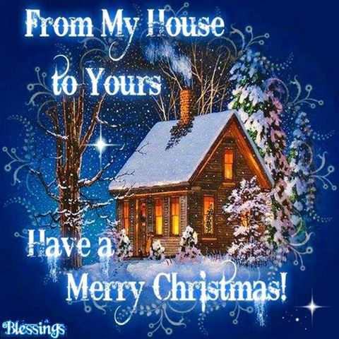 Merry Christmas from My House