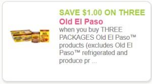 Old El Paso One off three