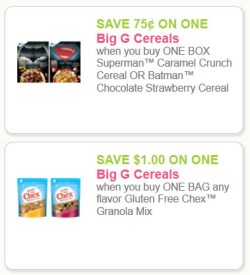 Big G Cereal Coupons - 3