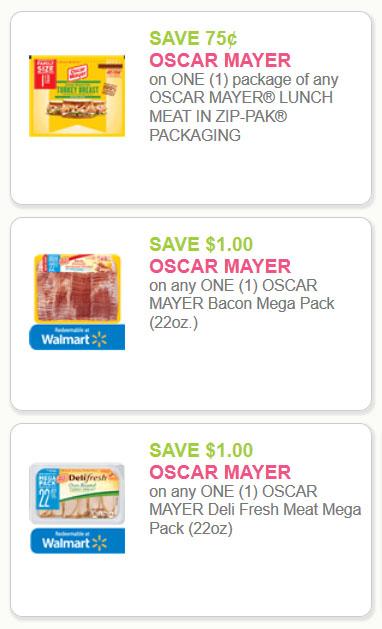 oscar meyer meat coupons