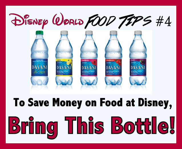 Dont buy water at Disney World