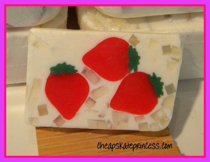 Basin-strawberry-soap