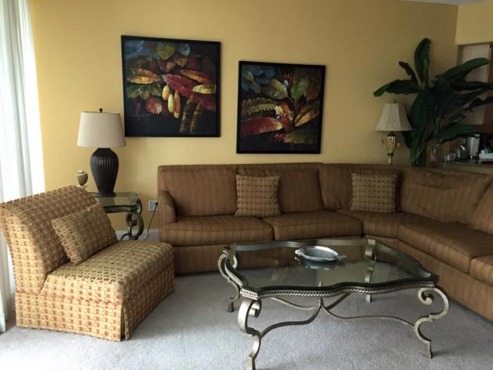 Caribe Resort living room