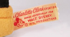 Charlotte Clark creations for Walt Disney productions, first Mickey Mouse doll, who made the first Mickey Mouse doll, first Mickey doll, buy a Mickey Mouse doll
