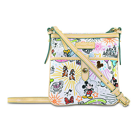 Disney Dooney sketch letter carrier bag, letter carrier bag, letter carrier purse, Disney Dooney purse price, how much does a Disney Dooney cost, where can I buy a Disney Dooney handbag