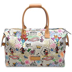 Disney Sketch Dooney & Bourke Weekender Large Duffle Bag, Disney weekender bag, Disney weekend bag, Dooney & Bourke weekend bag, biggest Dooney & Bourke purse, what is the most expensive Dooney & Bourke Purse