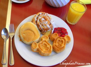 Mickey Mouse waffle, waffles, Mickey Mouse food, Contemporary Resort food,