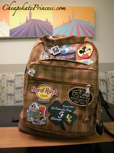 packing for vacation, what to pack for vacation, what not to pack for vacation, back pack, Disney bag, Disney backpack