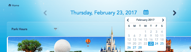 Disney calendars to plan your vacation