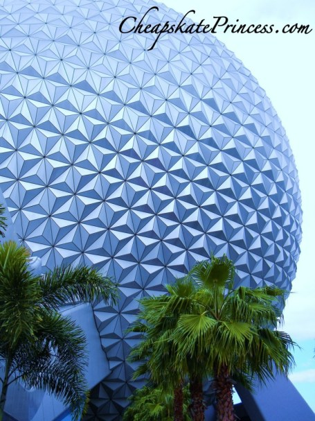 Epcot ball, Epcot, Spaceship Earth, geosphere, Disney theme parks,