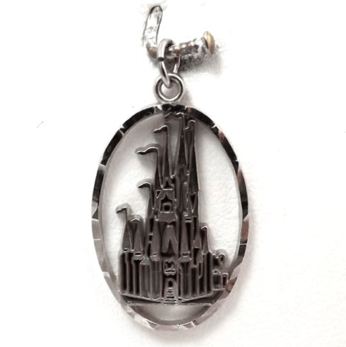 Sterling silver disney World souvenir charm