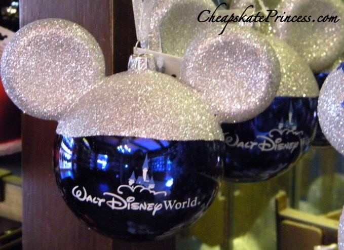 Walt Disney World Christmas ornament, Christmas at Disney, what to buy at Disney at Christmas