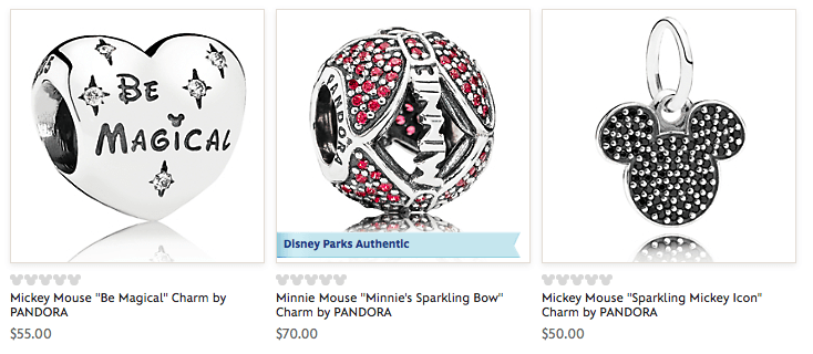 cheap Disney World Pandora Charms