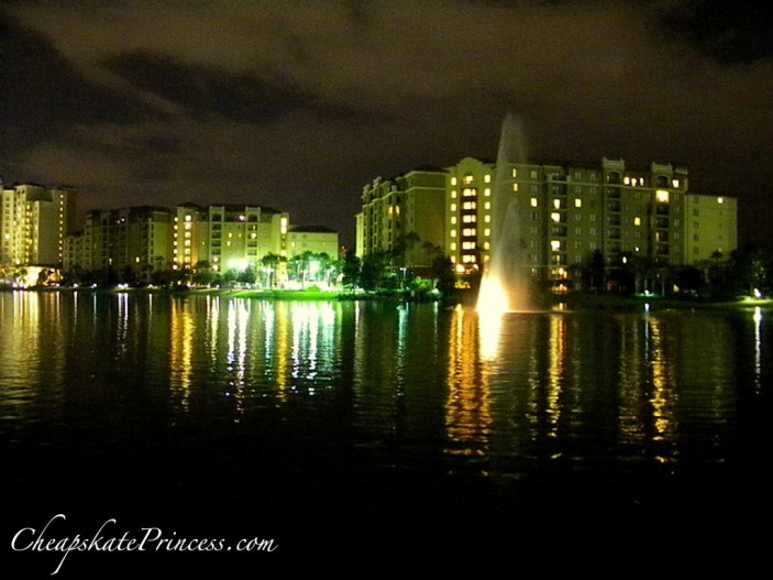 Orlando at night, Bonnet Creek resort at night, how much does it cost to stay at Bonnet Creek in Orlando, where is Bonnet Creek in Orlando, Bonnet Creek phone number