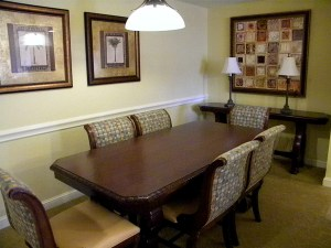 Bonnet Creek dining room photo,