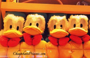 Donald Duck doll, Disney dolls, Disney plush dolls, why kids should buy their own toys,