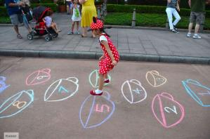 hop scotch, playing at Disney World, walking in Orlando, training for vacation, why should I walk, benefits of walking