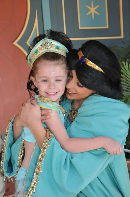Kim Merlo's adorable little Princess Jasmine