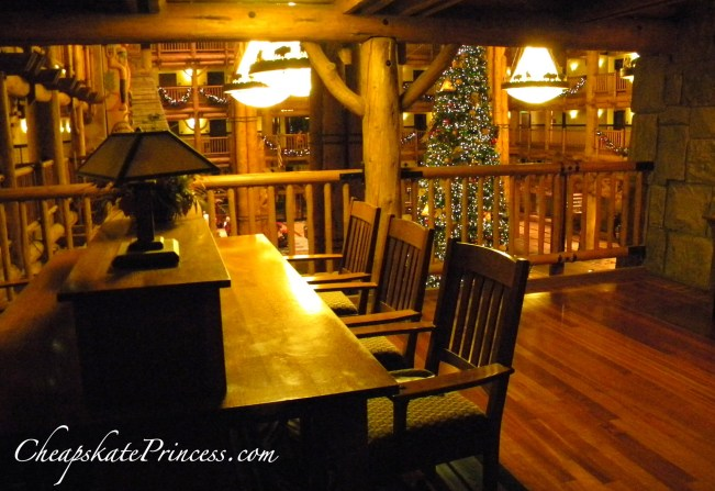 Quiet out of the way places at Disney World Wilderness Lodge