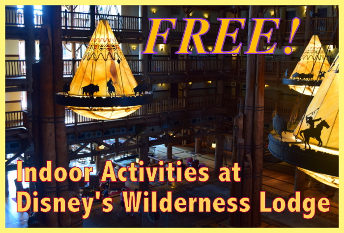 free activties at Disney's Wilderness Lodge