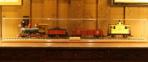 trains at the DVC, Wilderness Lodge train collection, Walt Disney train collection