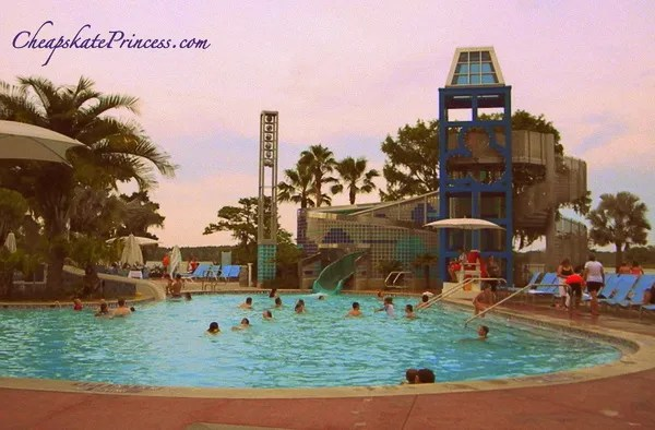 can you swim at Disney World Bay Lake Tower pool
