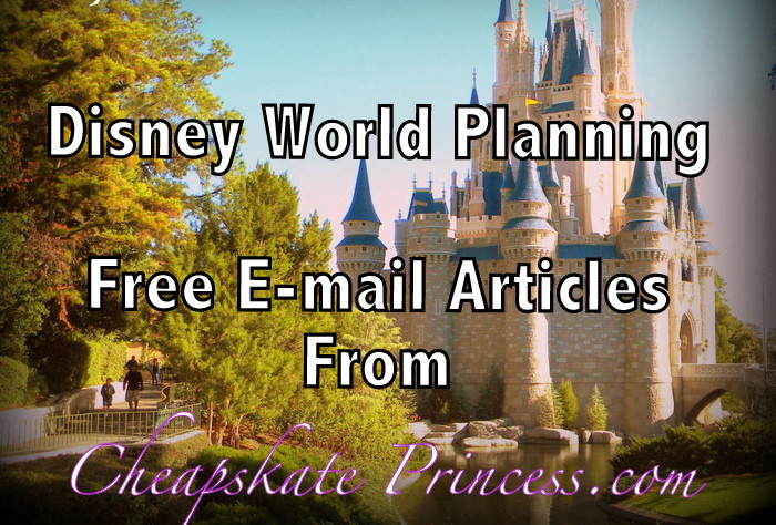Cheapskate Princess e-mail