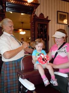 Is the Harmony Barber Shop worth the money, how to get a haircut at Disney World
