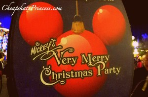 2013 Mickey's Very Merry Christmas Party prices and tickets
