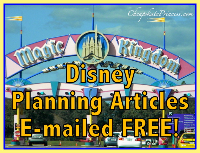 free tips for Disney World vacations