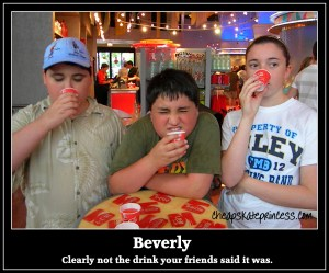 where is Beverly at Disney World, drink Beverly, Disney's Beverly tastes horrible, Coca Cola Beverly