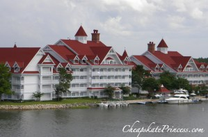 walk from the Polynesian Resort to the Grand Floridian