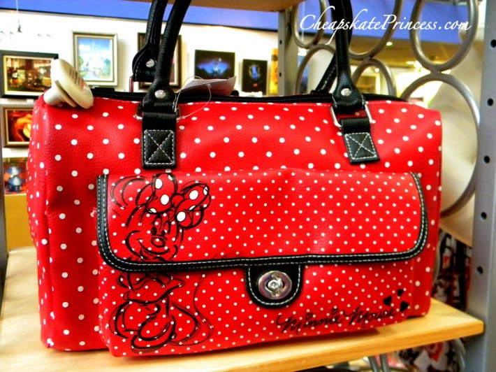Minnie Mouse Disney World purse