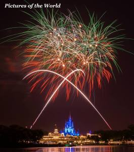 Disney fireworks, fireworks, Magic Kingdom fireworks, where to watch Disney fireworks, best place to photograph Disney fireworks